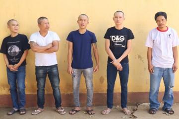 Bắt 16 nghi phạm trong băng trộm liên tỉnh