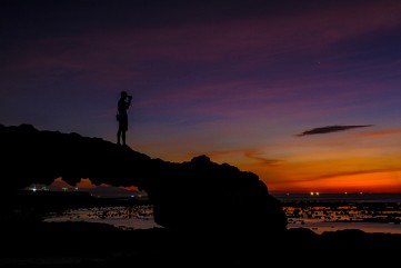 Bình minh, hoàng hôn tuyệt đẹp trên đảo Lý Sơn