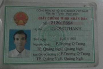 Nhặt được 3 chứng mình và giấy tờ khác ở phường Trương Quang Trọng