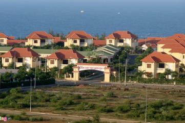 Khu đô thị hoang vắng cạnh Nhà máy lọc dầu Dung Quất