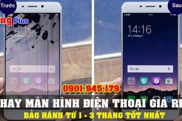 Thay màn hình điện thoại giá rẻ bảo hành tốt nhất thị trường Bình Sơn.