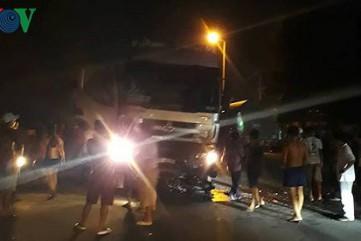 Khởi tố tài xế ngủ gật, tông 6 người thương vong ở Dung Quất